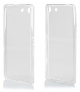 """Skaidrus silikoninis dėklas Sony Xperia M5 telefonui """"Clear"""""""