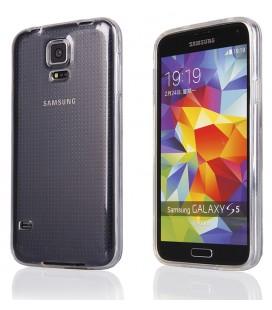 """Skaidrus silikoninis dėklas Samsung Galaxy S5 telefonui """"Clear"""""""