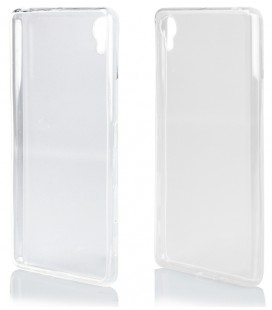 "Skaidrus silikoninis dėklas Sony Xperia X telefonui ""Clear"""