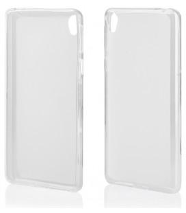 "Skaidrus silikoninis dėklas Sony Xperia E5 telefonui ""Clear"""