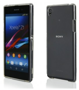 "Skaidrus silikoninis dėklas Sony Xperia Z1 telefonui ""Clear"""