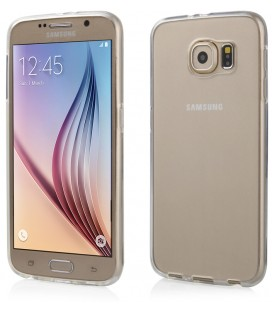 """Skaidrus silikoninis dėklas Samsung Galaxy S6 telefonui """"Clear"""""""