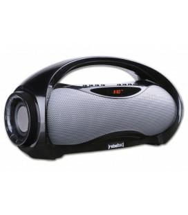 "Juoda BT/FM/USB nešiojama garso kolonėlė 16W ""Rebeltec SoundBox 320"""