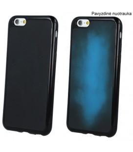 """Juodas - mėlynas dėklas Apple iPhone 5/5s/SE telefonui """"TPU Termo"""""""