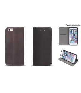 """Atverčiamas juodas dėklas Huawei P10 telefonui """"Nillkin Sparkle S-View"""""""