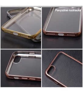 """Auksinės spalvos plastikinis dėklas Samsung Galaxy A5 2017 telefonui """"Nillkin Frosted Shield"""""""
