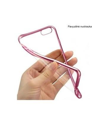 """Rožinis silikoninis dėklas Samsung Galaxy J5 2016 telefonui """"Glossy"""""""