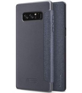"""Atverčiamas juodas dėklas Samsung Galaxy Note 8 telefonui """"Nillkin Sparkle"""""""