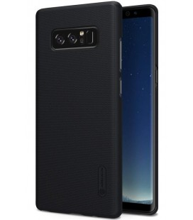 """Juodas plastikinis dėklas Samsung Galaxy Note 8 telefonui """"Nillkin Frosted Shield"""""""