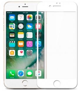 """Baltas apsauginis grūdintas stiklas Apple iPhone 7/8 telefonui """"Mocolo"""""""
