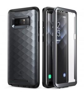 """Juodas dėklas Samsung Galaxy Note 8 telefonui """"Supcase Clayco Hera"""""""