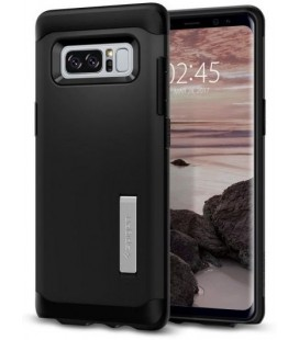 """Juodas dėklas Samsung Galaxy Note 8 telefonui """"Spigen Slim Armor"""""""