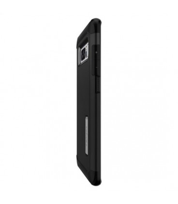 "Juodos spalvos ""Qult Carbon"" Samsung Galaxy S8 G950 CARBON dėklas"
