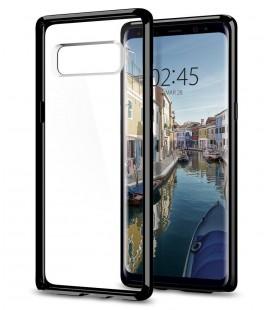 "Juodas dėklas Samsung Galaxy Note 8 telefonui ""Spigen Ultra Hybrid"""