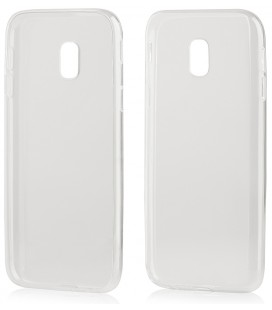 """Skaidrus silikoninis dėklas Samsung Galaxy J3 2017 telefonui """"Clear"""""""