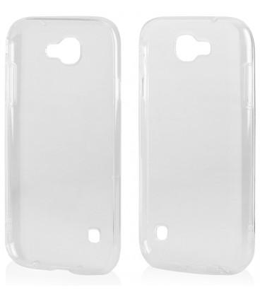 "Skaidrus silikoninis dėklas LG K3 2017 telefonui ""Clear"""