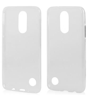 "Skaidrus silikoninis dėklas LG K4 2017 telefonui ""Clear"""