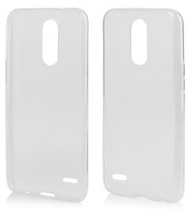 "Skaidrus silikoninis dėklas LG K10 2017 telefonui ""Clear"""