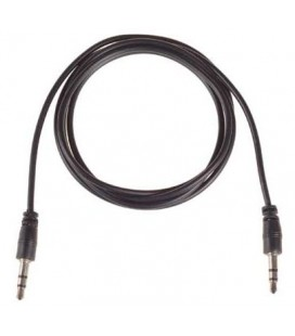Audio adapteris 3.5mm - 3.5mm - Juodas