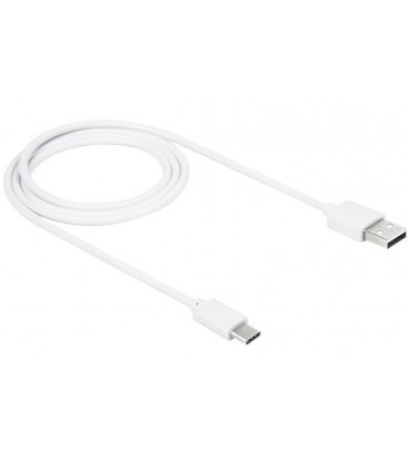 USB - Type C USB laidas 1m - Baltas