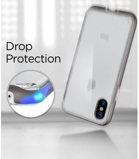 """Juodos spalvos silikoninis """"Glossy"""" Samsung Galaxy S8 Plus G955 dėklas"""