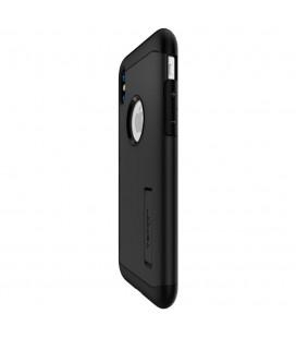 """Juodos spalvos silikoninis """"Glossy"""" Samsung Galaxy S8 G950 dėklas"""