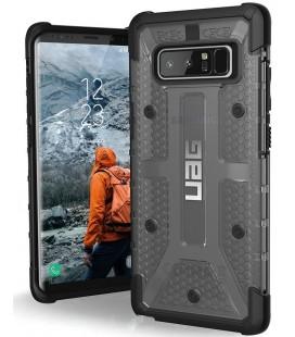"""Juodas - skaidrus dėklas Samsung Galaxy Note 8 telefonui """"UAG - Urban Armor Gear Plasma"""""""