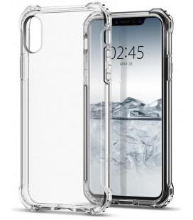 "Juodas dėklas Apple iPhone 7/8 telefonui ""Spigen Hybrid Armor"""