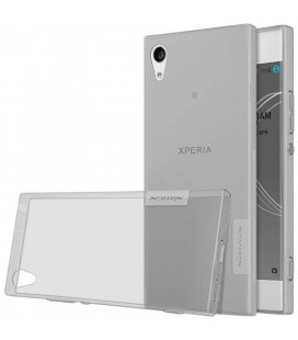 "Pilkas silikoninis dėklas Sony Xperia XA1 Ultra telefonui ""Nillkin Nature"""