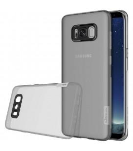 """Pilkas silikoninis dėklas Samsung Galaxy S8 Plus telefonui """"Nillkin Nature"""""""