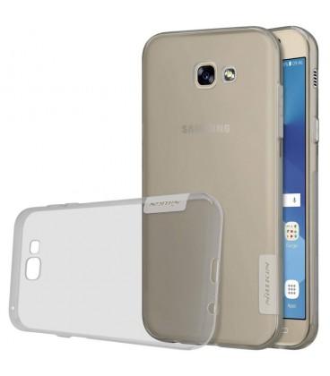 """Pilkas silikoninis dėklas Samsung Galaxy A5 2017 telefonui """"Nillkin Nature"""""""