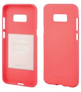 """Rožinis silikoninis dėklas Samsung Galaxy Note 8 telefonui """"Mercury Soft Feeling"""""""