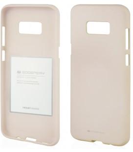 """Smėlio spalvos silikoninis dėklas Samsung Galaxy Note 8 telefonui """"Mercury Soft Feeling"""""""