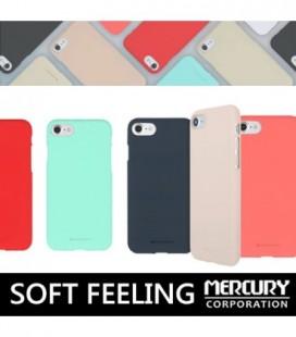 """Šviesiai pilkas silikoninis dėklas Samsung Galaxy J5 2017 telefonui """"Mercury Soft Feeling"""""""