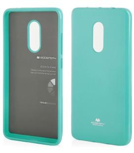 """Mėtos spalvos silikoninis dėklas Xiaomi Redmi Note 4 telefonui """"Mercury Goospery Pearl Jelly Case"""""""