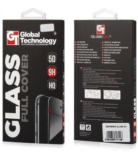 "5D baltas apsauginis grūdintas stiklas Samsung Galaxy A3 2017 telefonui ""GT"""