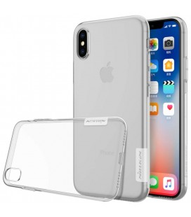 "Skaidrus silikoninis dėklas Apple iPhone X telefonui ""Nillkin Nature"""