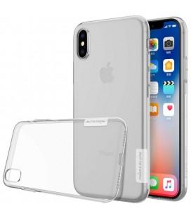 "Skaidrus silikoninis dėklas Apple iPhone X telefonui ""Nillkin Nature"""