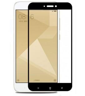 """Juodas apsauginis grūdintas stiklas Xiaomi Redmi 4X telefonui """"Mocolo"""""""