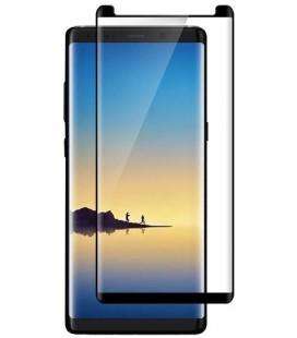 """Juodas 3D apsauginis grūdintas stiklas Samsung Galaxy Note 8 telefonui """"Mocolo CF"""""""