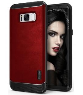 """Raudonas dėklas Samsung Galaxy S8 Plus telefonui """"Ringke Flex S"""""""