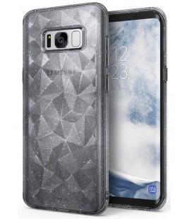 """Pilkas dėklas Samsung Galaxy S8 telefonui """"Ringke Prism Air Glitter"""""""