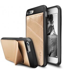 """Auksinės spalvos dėklas Apple iPhone 7/8 telefonui """"Ringke Edge"""""""