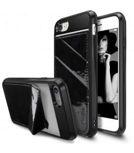 """Juodas dėklas Apple iPhone 7/8 telefonui """"Ringke Edge"""""""