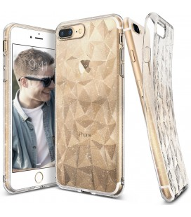 "Skaidrus dėklas Apple iPhone 7 Plus / 8 Plus telefonui ""Ringke Prism Air Glitter"""
