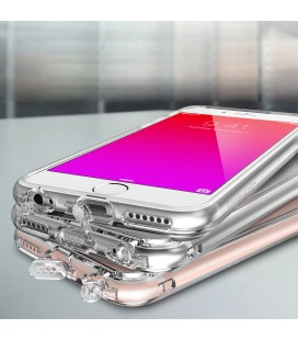 """Rožinis silikoninis dėklas Huawei P8/P9 Lite 2017 telefonui """"Glossy"""""""