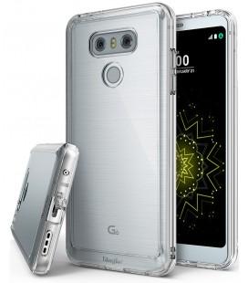 """Sidabrinės spalvos silikoninis dėklas Huawei P10 telefonui """"Glossy"""""""