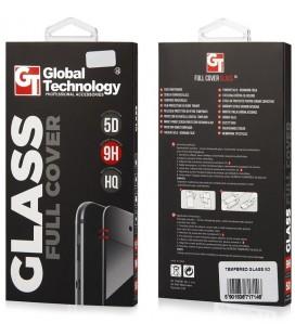 """5D juodas apsauginis grūdintas stiklas Samsung Galaxy A3 2017 telefonui """"GT"""""""