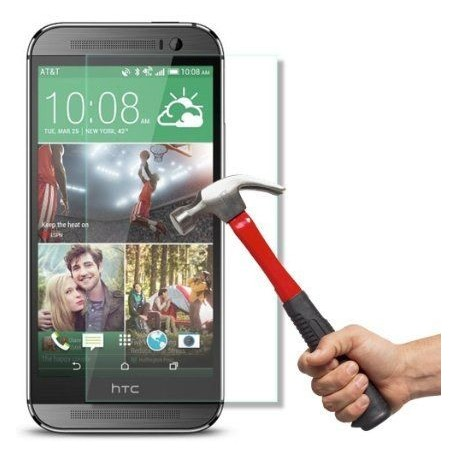 """Apsauginė ekrano plėvelė - grūdintas stiklas """"Tempered Glass"""" HTC One E8 telefonui."""