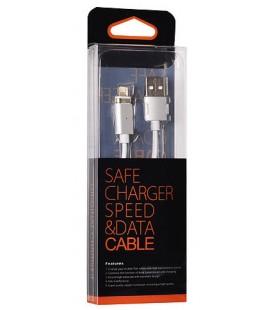 Juodas magnetinis iPhone 5/6/7 - USB laidas